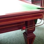 No one to assist with Billards/Snooker.