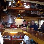 Having fun at the Elkhorn lodge