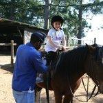 Horseback riding for beginners