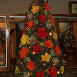 Beautiful Christmas tree in the Outrigger lobby