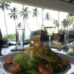 Yummy lunch at hotel