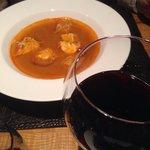 Tasty fish soup