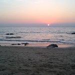 Sun set Dec 31 2013 Ngapali Beach
