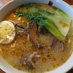 Paitan Ramen in beef & shiitake broth