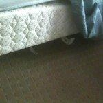 metal under bed