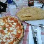 margherita - pizza fritta