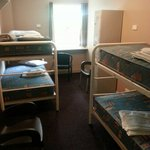 4 bed dorm rooms with lockers, power points for each bed. Linen provided.