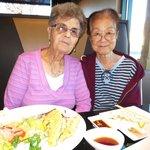 Satiated Old Ladies Post-meal