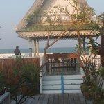 terrasse sur la mer