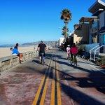 Missin Beach Boardwalk and beach