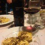 ravioli with truffle