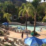 the lounge pool