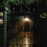 front gate is locked at night