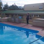 hermosa piscina climatizada
