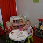 our kiddy area