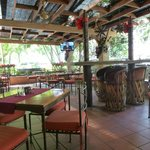 Ground-floor open-air patio