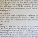 Additional Shuttle Service Literature.
