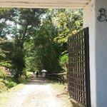 Así le da la bienvenida la Hacienda Baza a sus visitantes