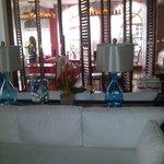 Luxurious Decor in sitting area