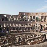 Interior of the Coliseum