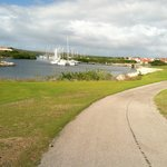 Marina views come into play on a few holes but not many water hazards to contend with