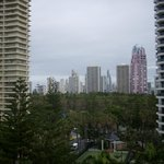 View looking towards Surfers Paradise