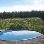 pool overlooking valley