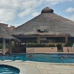 Isla Contoy and swim up bar
