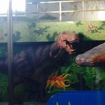 The dinosaurs of Dino Park, Victoria Inn  |  1808 Wellington Ave, Winnipeg, Manitoba