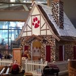 Real gingerbread house!