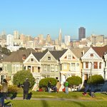 one beautiful afternoon to enjoy Alamo Square