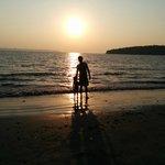 Calm safe little beach