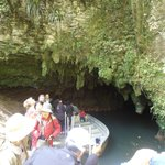 Waitomo Glow Worm caves exit