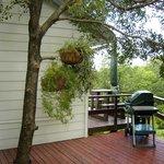 Deck cottage view