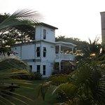Hotel reception building