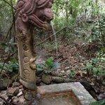 Maya themed sculptures