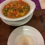 Amazing Massaman Curry at Wanna's Place
