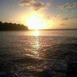 Beautiful sunset from La Toc
