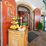 Entrance to the restaurant/breakfast room