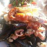 Pates aux fruits de mer