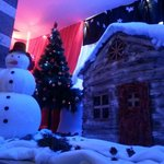 Christmas decoration buy the animation team :)