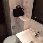 Bathroom (Hair dryer and toiletries)