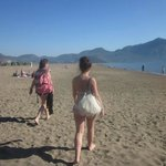 Beach on Dalyan tip