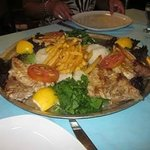Red snapper at sea food restaurant in Bodrum