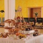 Frühstücksbüffet im Best Western Plus Hotel Erb