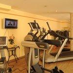 Fitnessraum im Best Western Plus Hotel Erb
