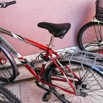 One of the bikes available for use free of charge