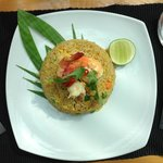 lemongrass - shrimp fried rice