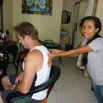 $30,000 Rp Massage for 30 minutes (AUS$3.00)