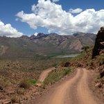 Dirt roads nearby Cachi